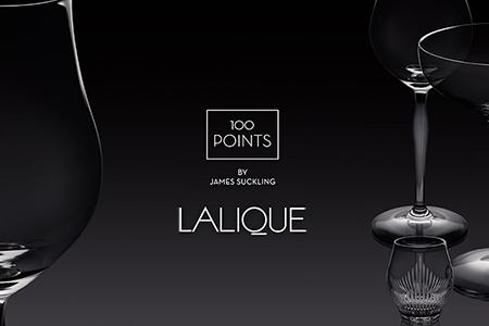 Lalique James Suckling 100 Points new glasses
