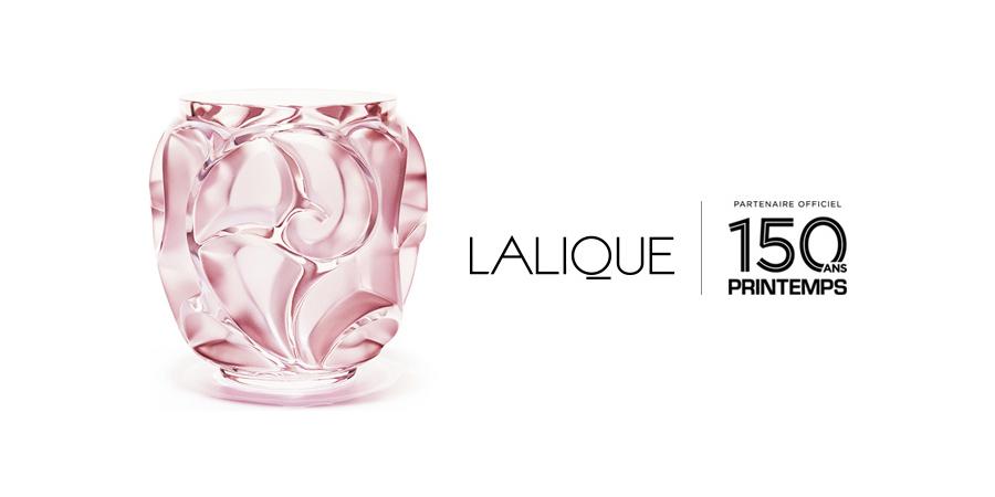 Lalique Celebrates 150 Years Of Printemps Lalique