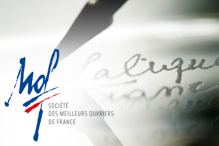 "Three new "" Meilleurs Ouvriers de France "" at Lalique"