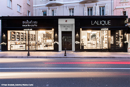 Opening of a new Lalique boutique in Monaco