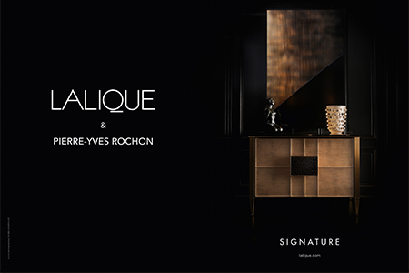 Lalique invites you to discover the new collection Signature at the Salone Del mobile in Milan