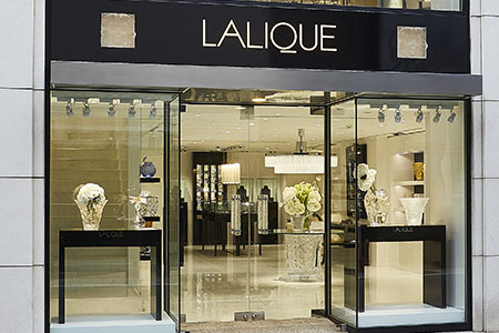 Opening of the new Lalique Boutique in Tokyo