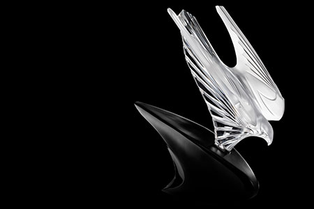 Second design of Essence of Speed Lalique collection for McLaren