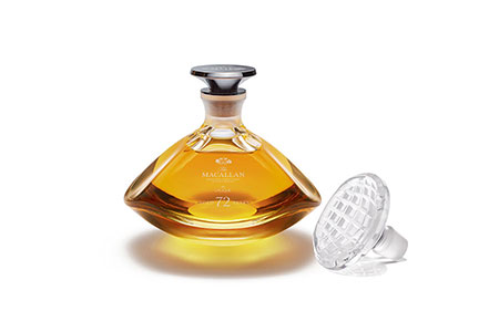 When worlds of mastery unite: unveiling The Macallan 72 years old in Lalique
