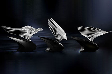 Third and last design of Essence of Speed Lalique collection for McLaren