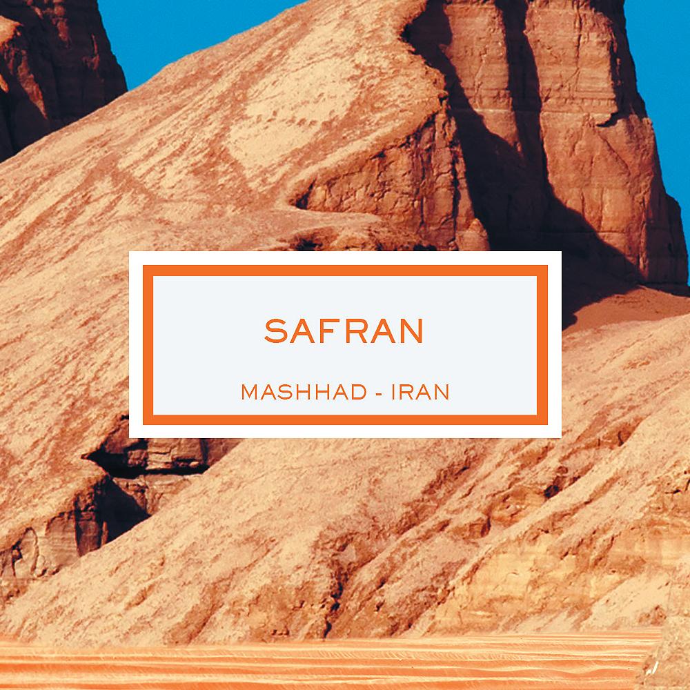 Saffron, Mashhad - Iran, Scented Candle