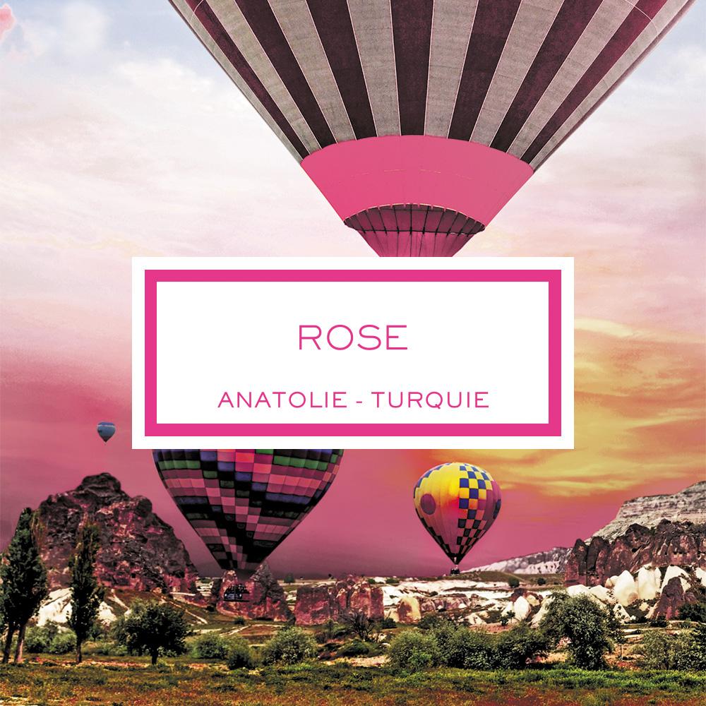 Rose, Anatolia - Turkey, Scented Candle