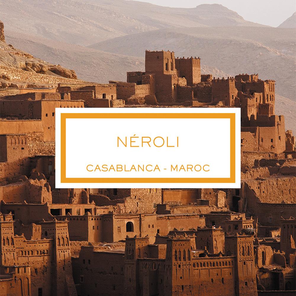 Néroli, Casablanca - Maroc, Bougie Parfumée, 190g