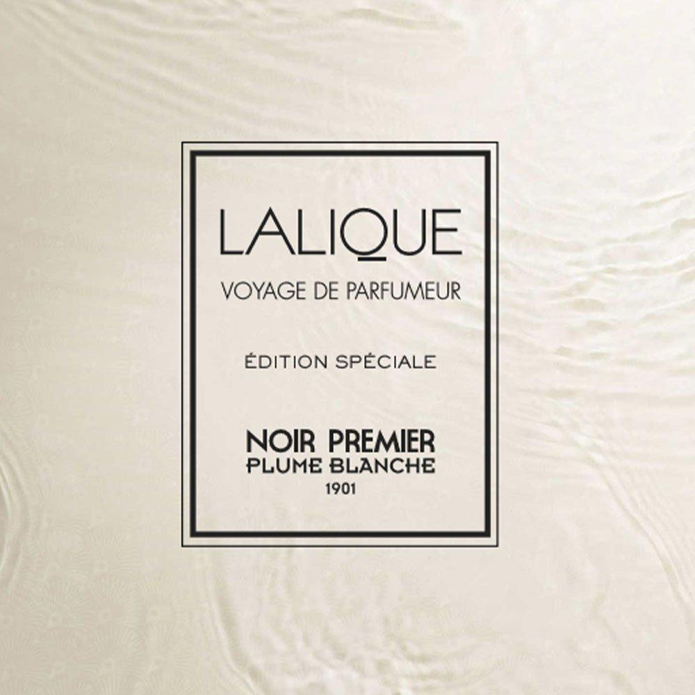 Noir Premier, Plume Blanche 1901, Bougie Parfumée