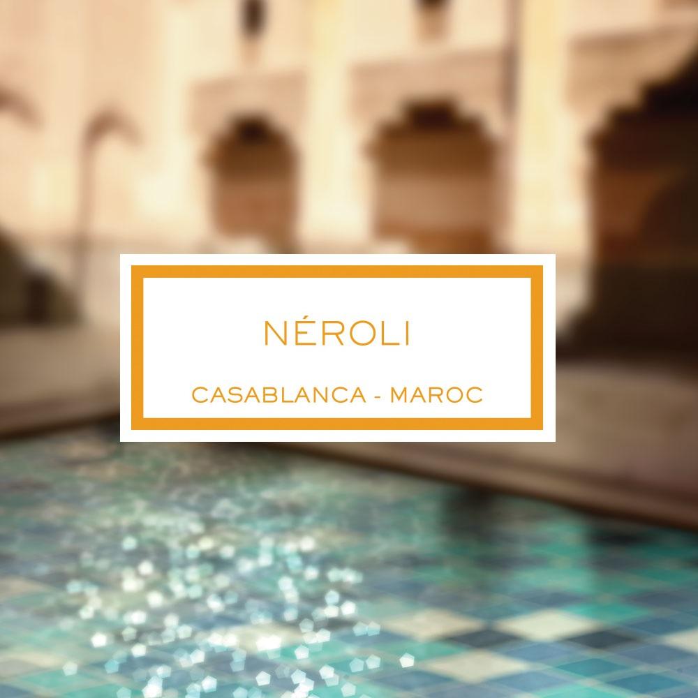 Néroli, Casablanca - Maroc, Bougie Parfumée, 600g