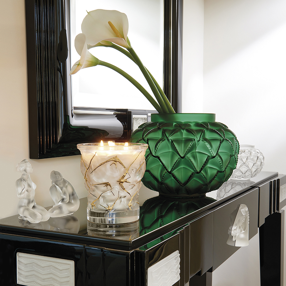 Languedoc vase green crystal vase lalique lalique languedoc vase green crystal vase lalique reviewsmspy