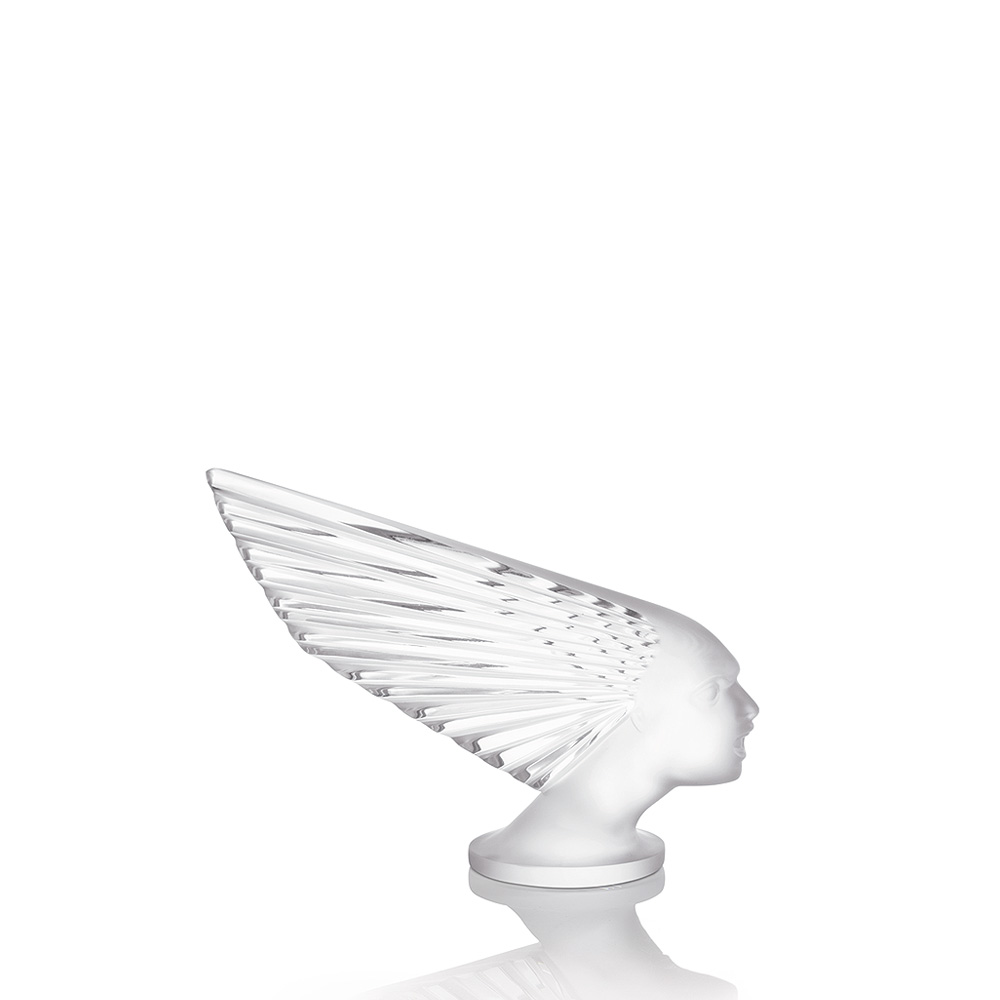 Victoire sculpture | Clear crystal | Sculpture Lalique