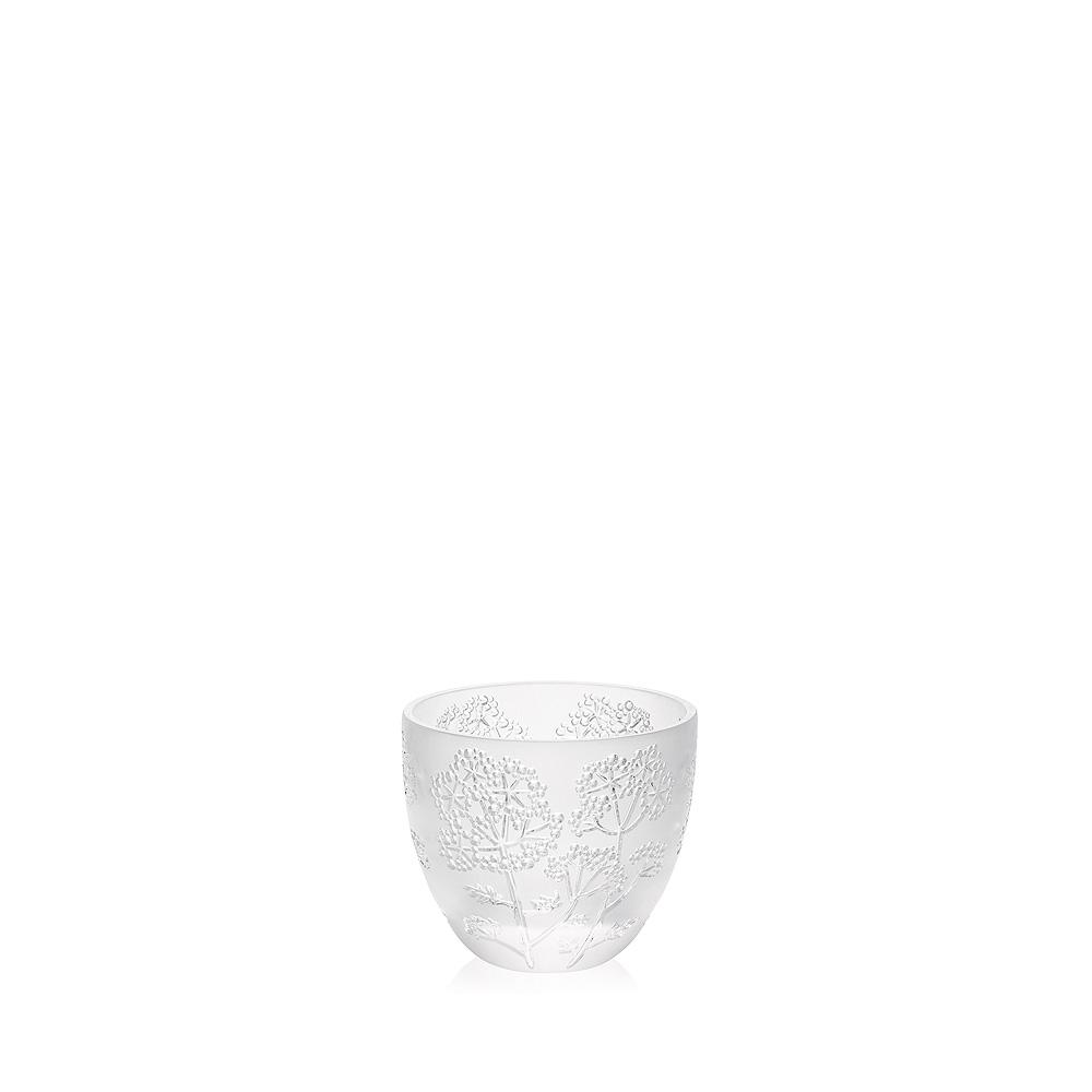 Ombelles votive | Clear crystal | Candleholder & votive Lalique