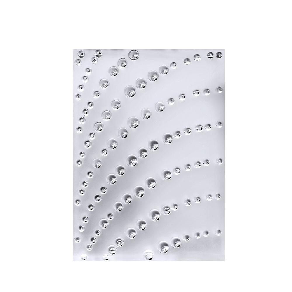 Panneau décoratif Coutard | Cristal incolore, côté droit | Interior Design Lalique