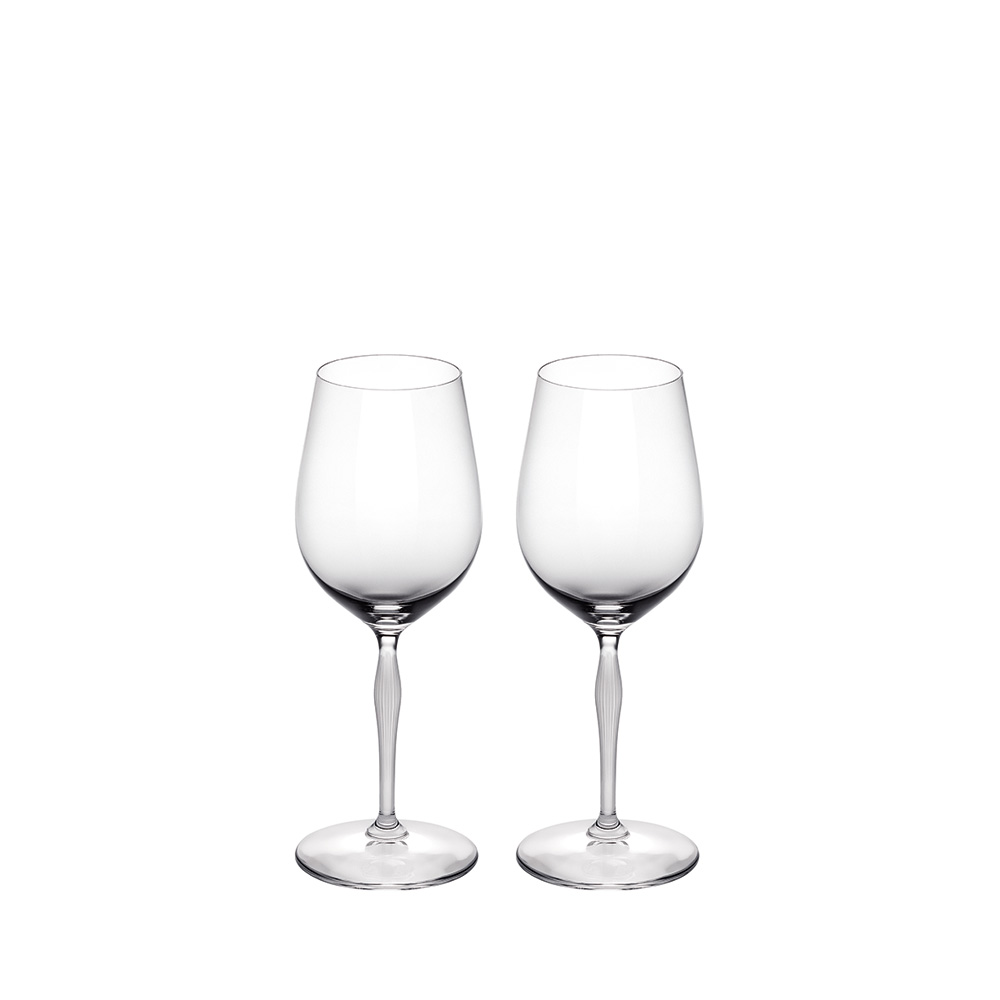 Set of 2 universal glasses 100 POINTS | 100 POINTS by James Suckling, clear crystal | Glass Lalique