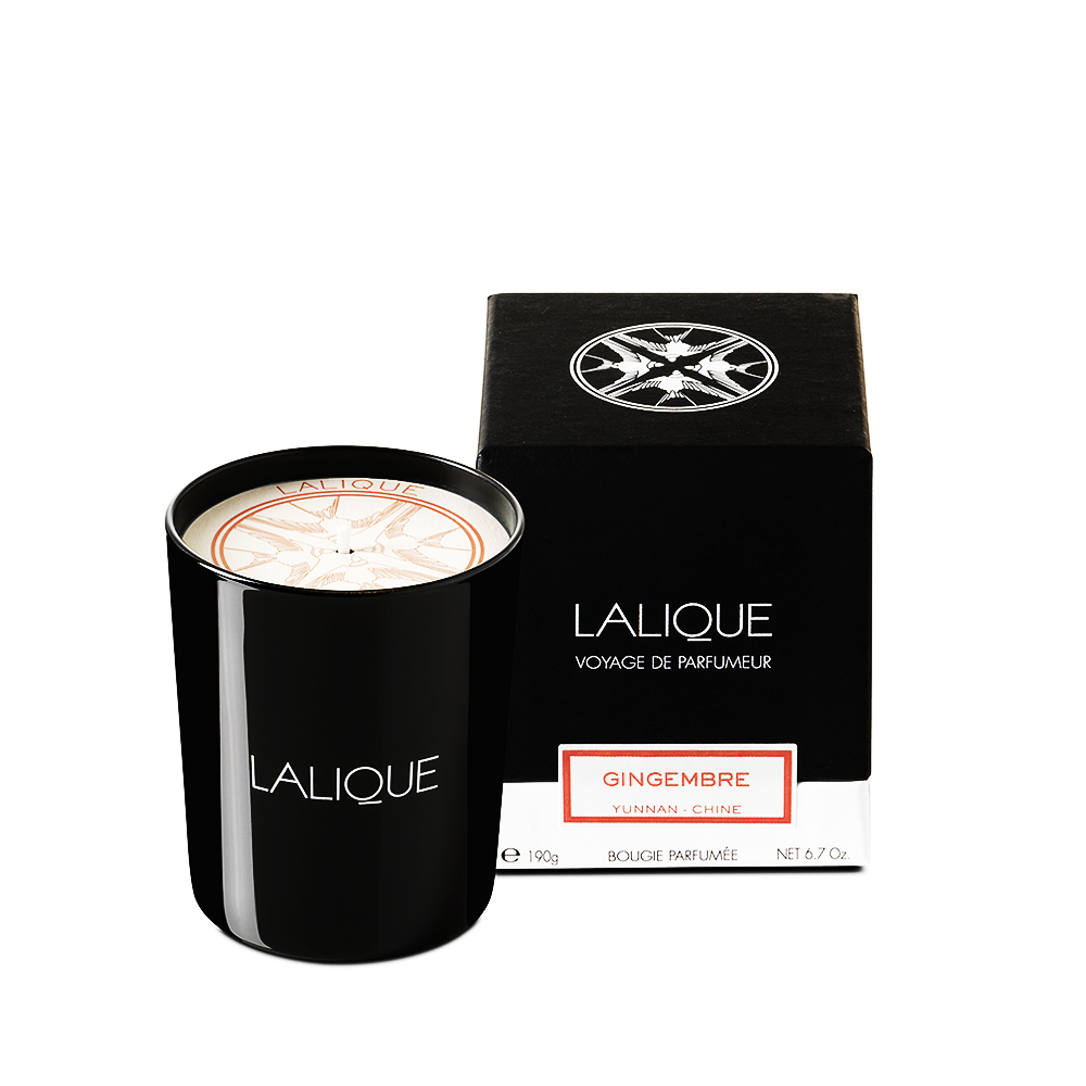 Ginger, Yunnan - China, Scented Candle | 190 g (6.5 Oz.) | Lalique Parfums