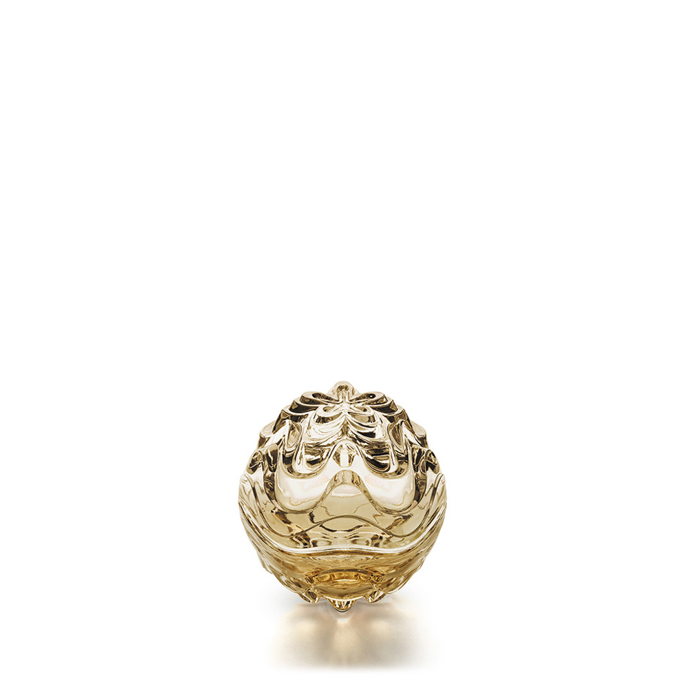 Vibration box | Gold luster crystal | Box Lalique
