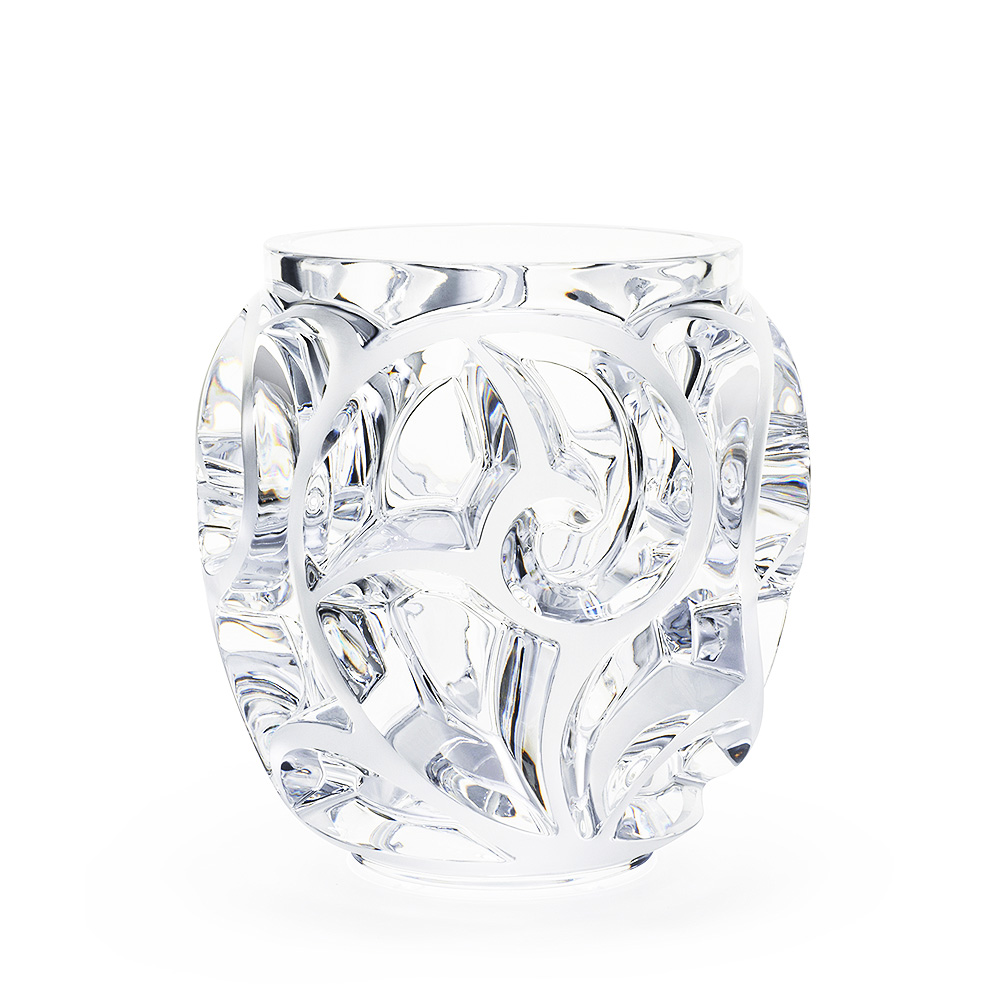 Tourbillons grand vase | Clear crystal | Vase Lalique