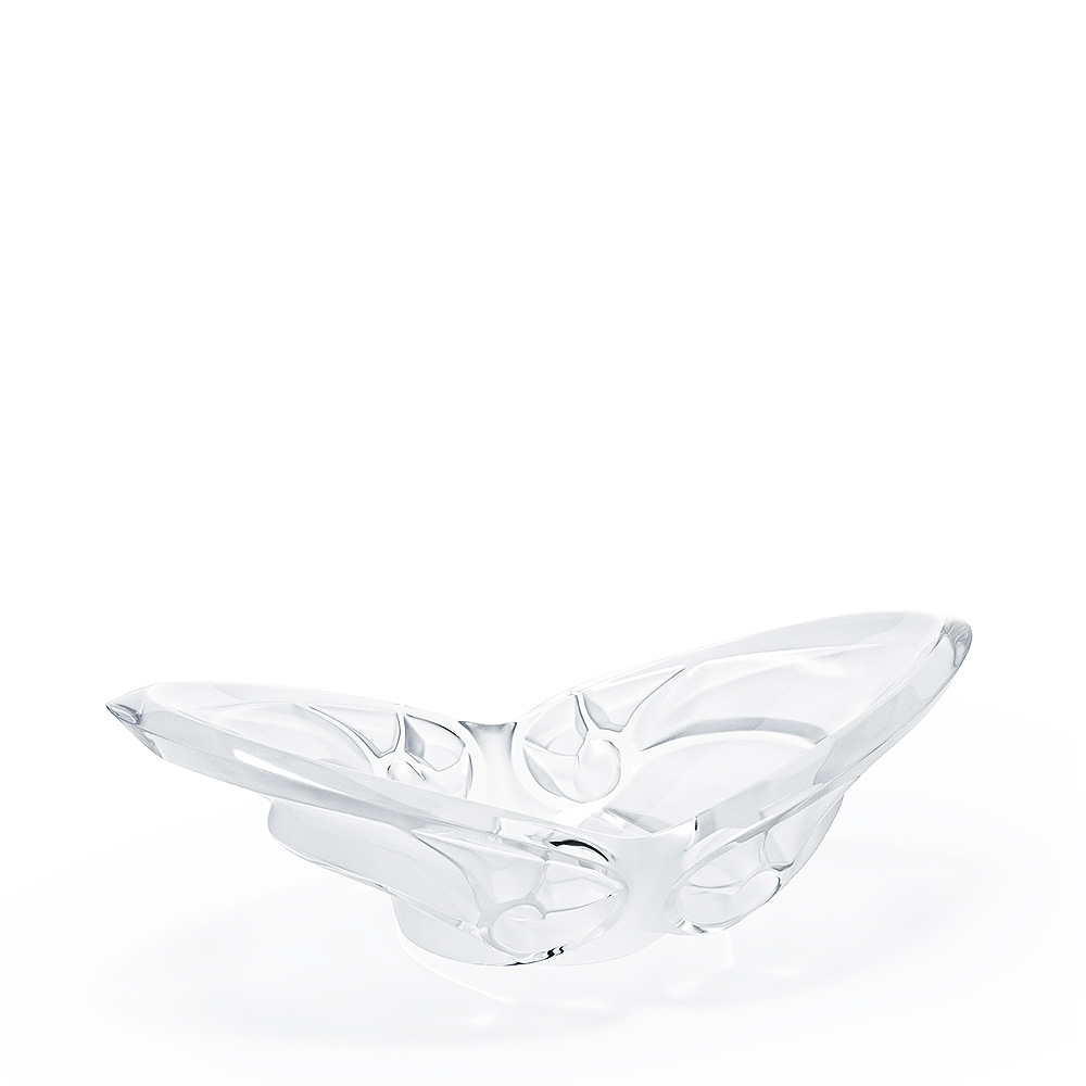 Tourbillons bowl | Clear crystal | Bowl Lalique