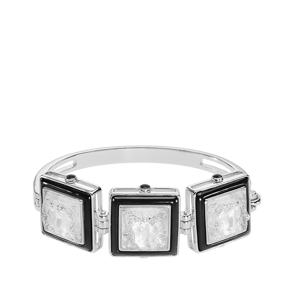 Aréthuse bracelet | Clear crystal, silver | Costume jewellery Lalique