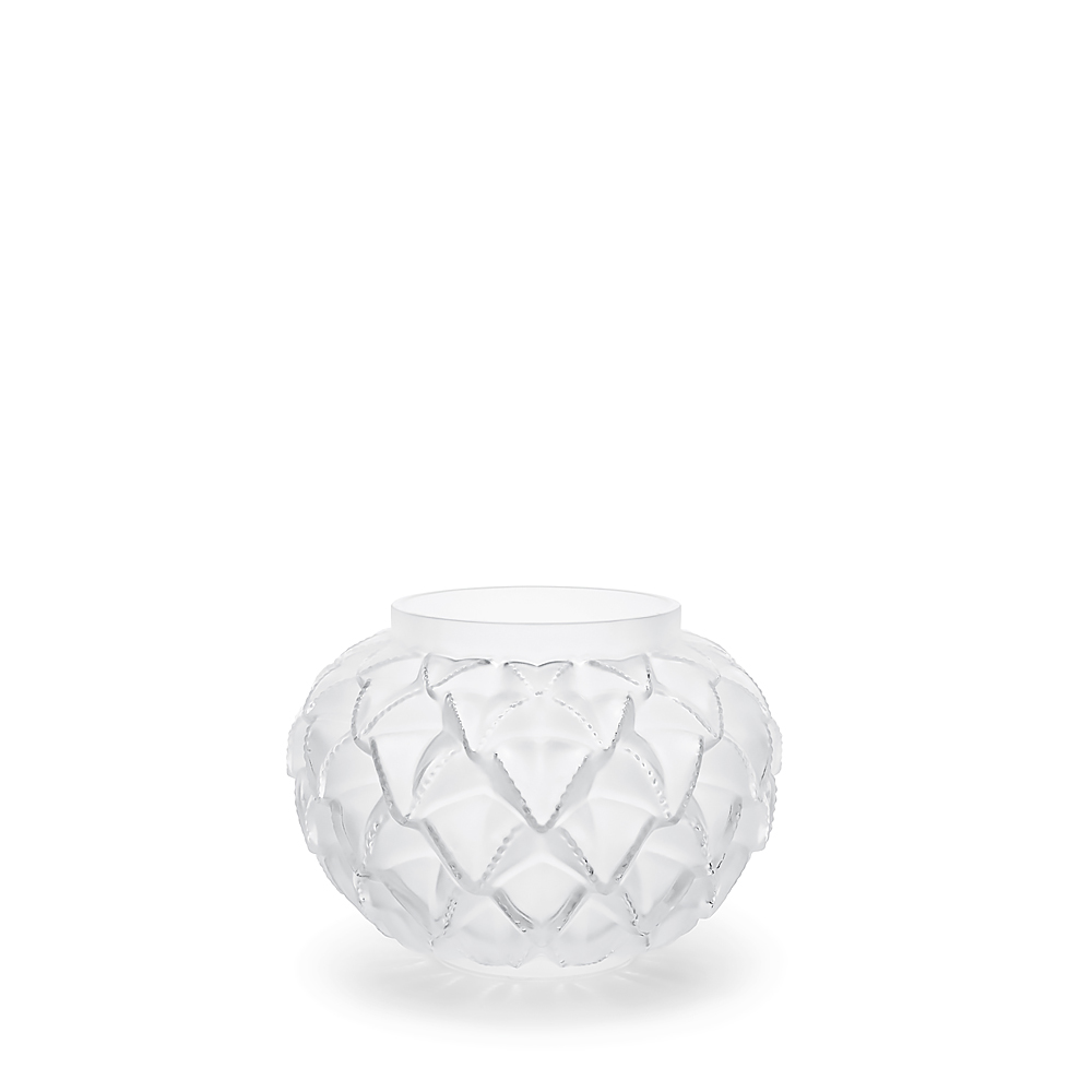 Languedoc small vase | Clear crystal | Lalique crystal vase