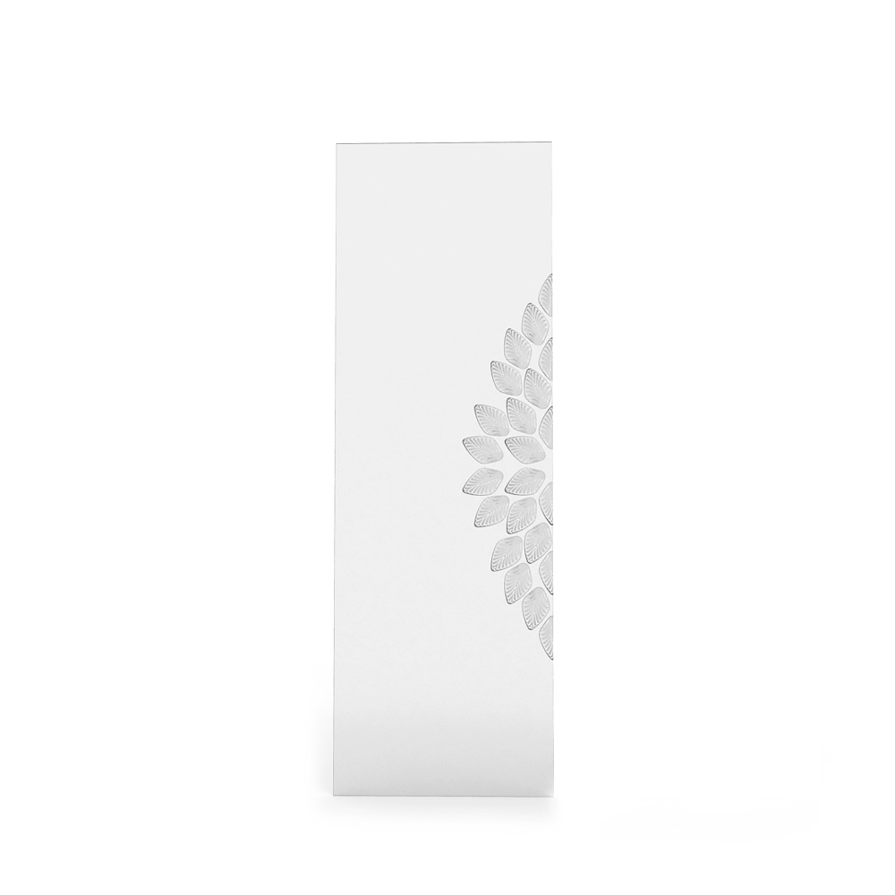 Languedoc interior panel | Clear crystal, satin finish glass, medium size | Interior Design Lalique