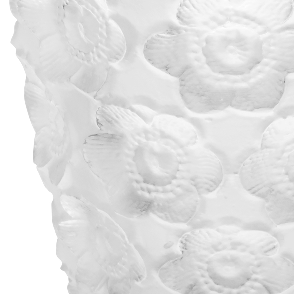Anemones votive | Clear crystal | Lalique crystal votive