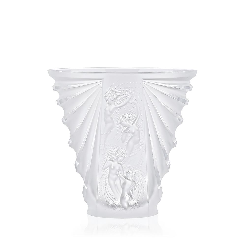 Naïades vase | Clear crystal | Vase Lalique