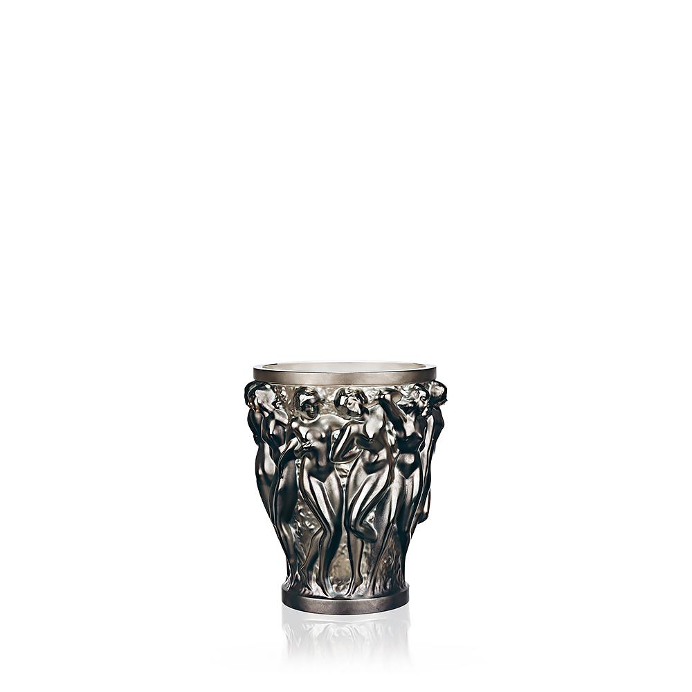 Bacchantes vase | Bronze crystal, small size | Vase Lalique