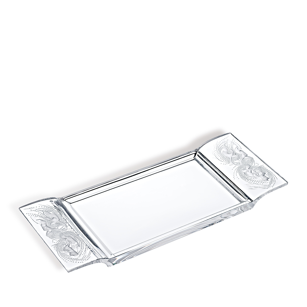 Naïades tray | Clear crystal | Lalique tray