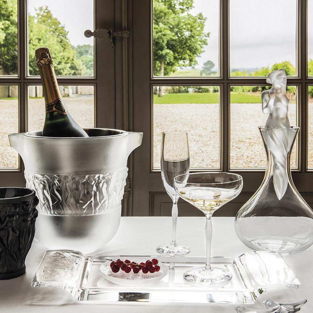Naïades tray | Clear crystal | Lalique tray