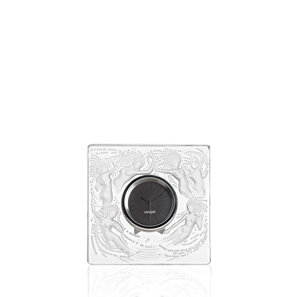 Naïades clock | Clear crystal | Clock Lalique