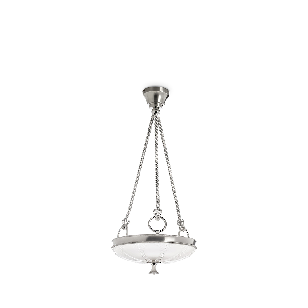 Ginkgo ceiling lamp clear crystal shiny and brushed nickel finish ginkgo ceiling lamp clear crystal shiny and brushed nickel finish small size arubaitofo Gallery