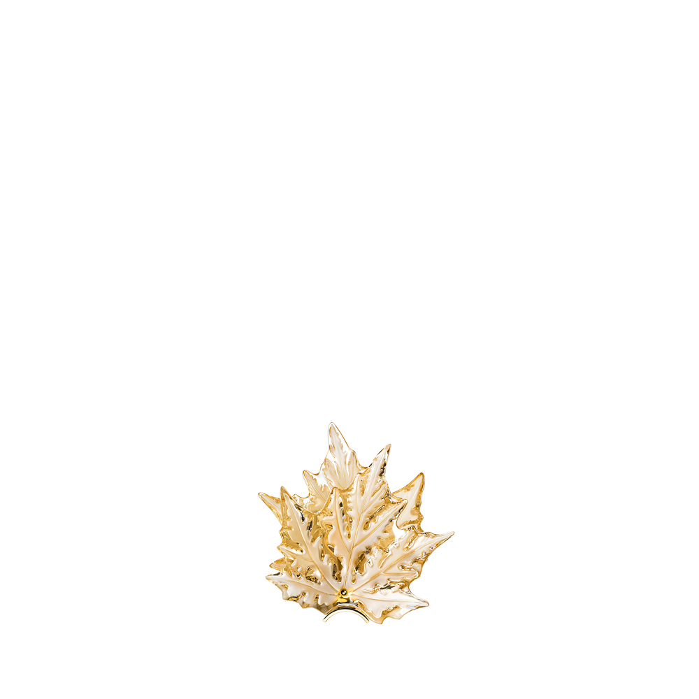 Champs-Élysées wall sconce | Gold luster crystal, gilded finish | Interior Design Lalique