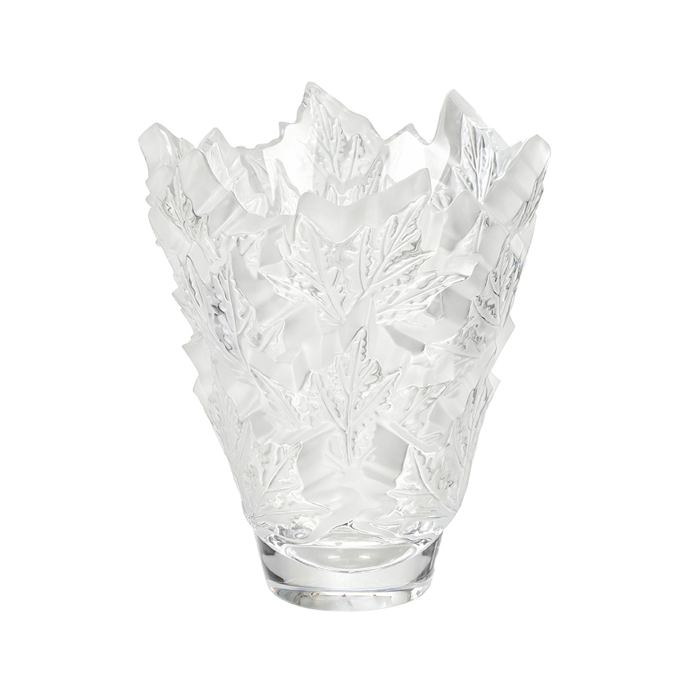 Champs-Élysées vase | Clear crystal | Vase Lalique