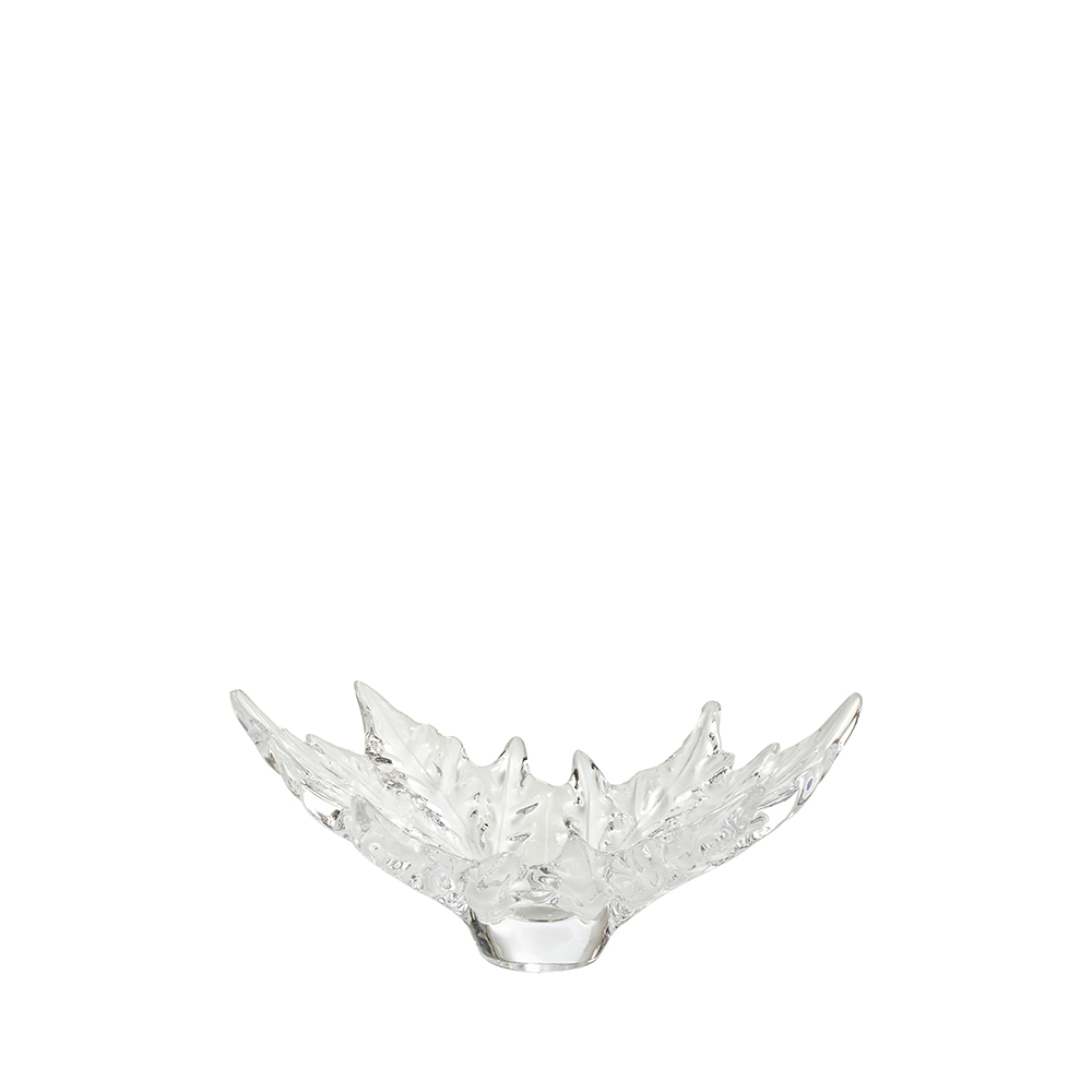 Champs-Élysées small bowl | Clear crystal | Bowl Lalique