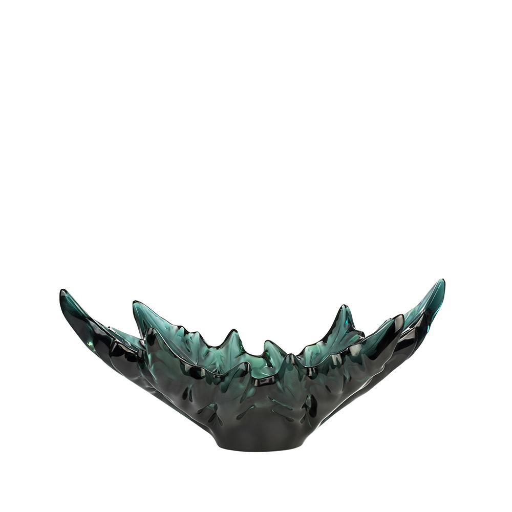 Champs-Élysées bowl | Intense green | Bowl Lalique