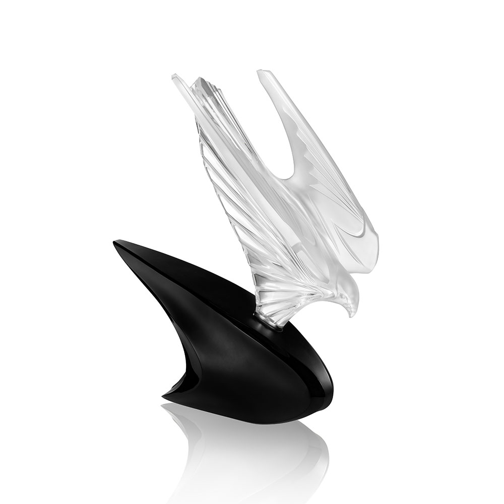 McLaren Falcon sculpture | Limited edition (20 pieces), clear crystal, lost wax | Sculpture Lalique
