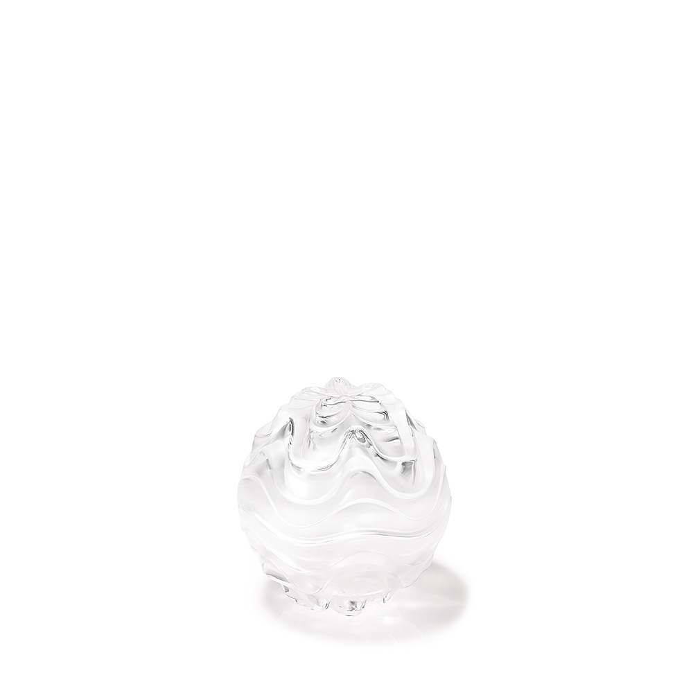 Vibration box | Clear crystal | Box Lalique