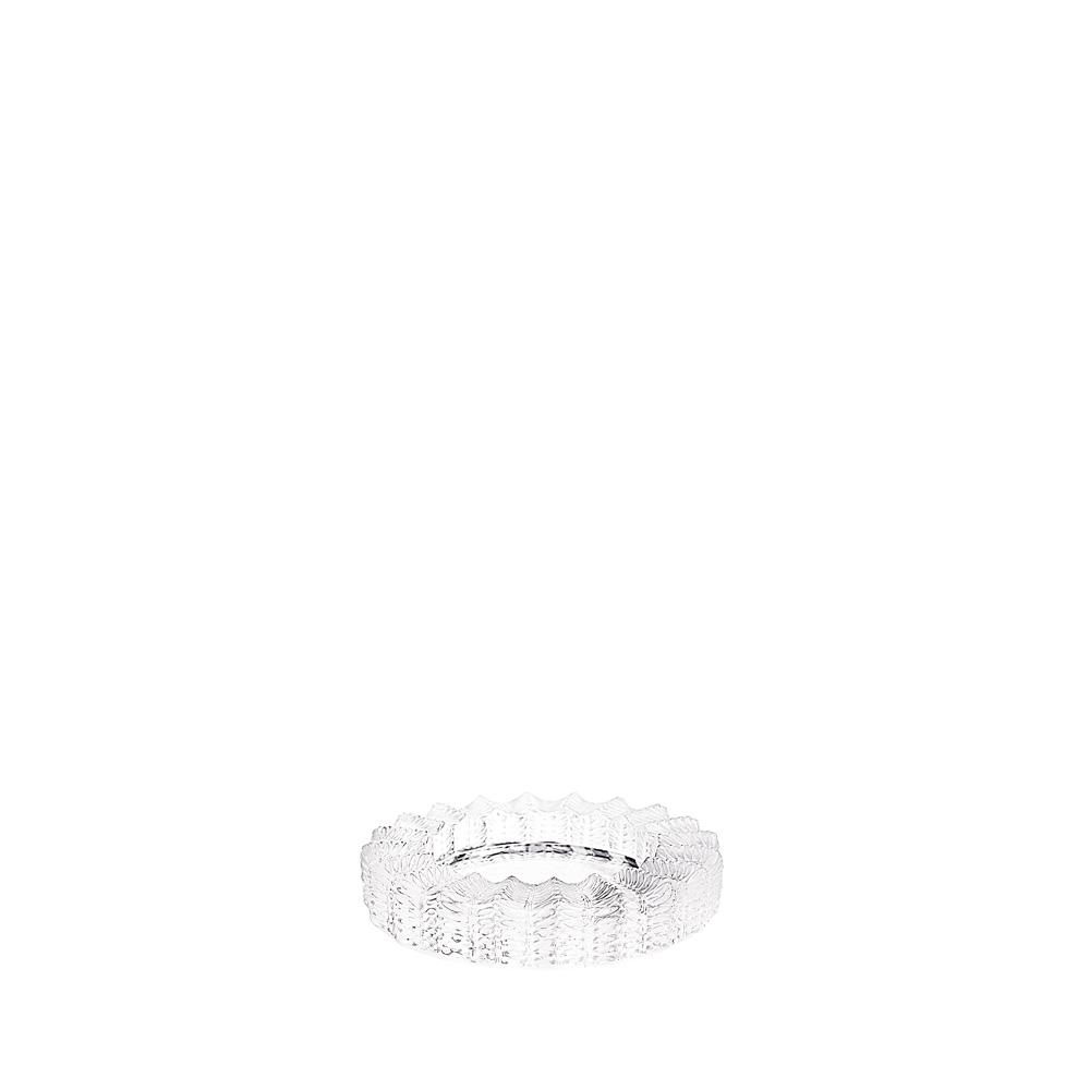 Jamaica ashtray   Clear crystal   Ashtray Lalique