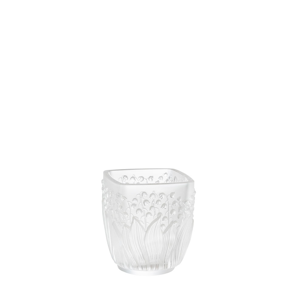 Muguet Votive | Clear crystal | Lalique Vase