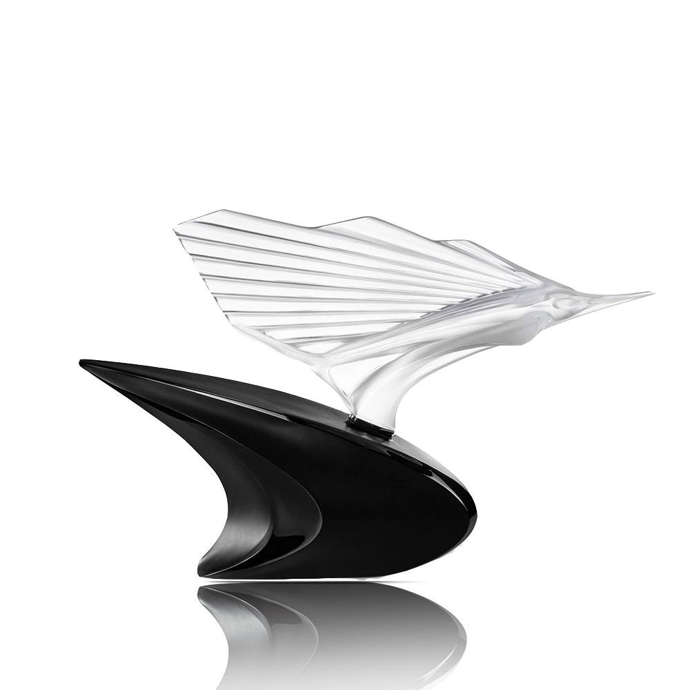 Sculpture Espadon McLaren | Édition limitée (20 ex.), cristal incolore, cire perdue | Sculpture Lalique
