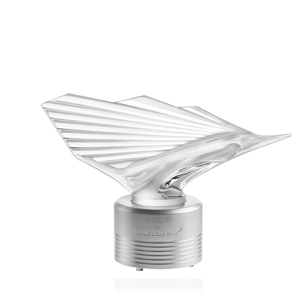 McLaren Sailfish sculpture | Limited edition (375 pieces), clear crystal | Sculpture Lalique