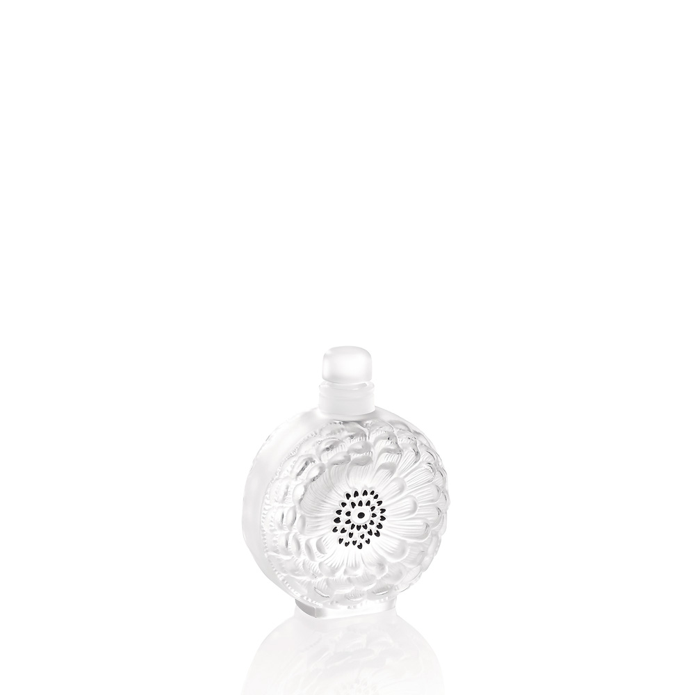 Dahlia N°3 perfume bottle | Clear crystal | Perfume bottle Lalique