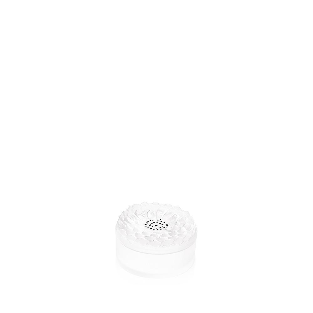 Dahlia N°2 box   Clear crystal   Box Lalique