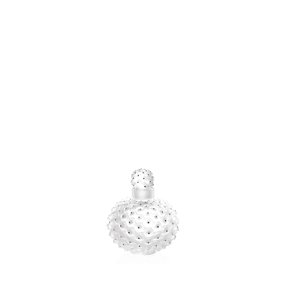 Cactus N°2 perfume bottle | Clear crystal | Perfume bottle Lalique
