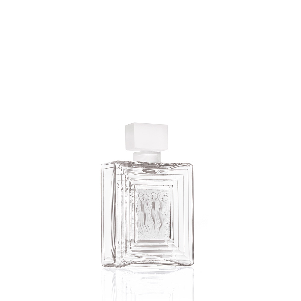 Duncan N°2 perfume bottle | Clear crystal | Perfume bottle Lalique