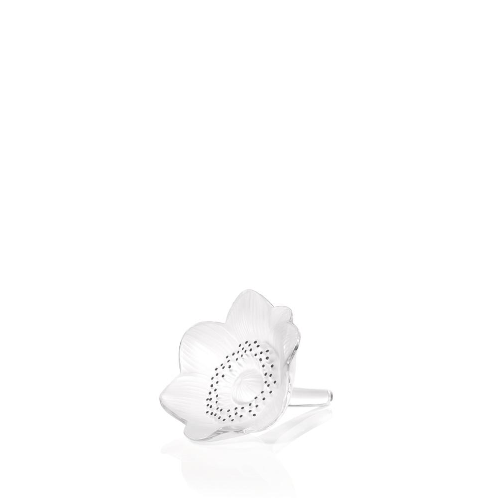 Anemone sculpture   Clear crystal   Sculpture Lalique