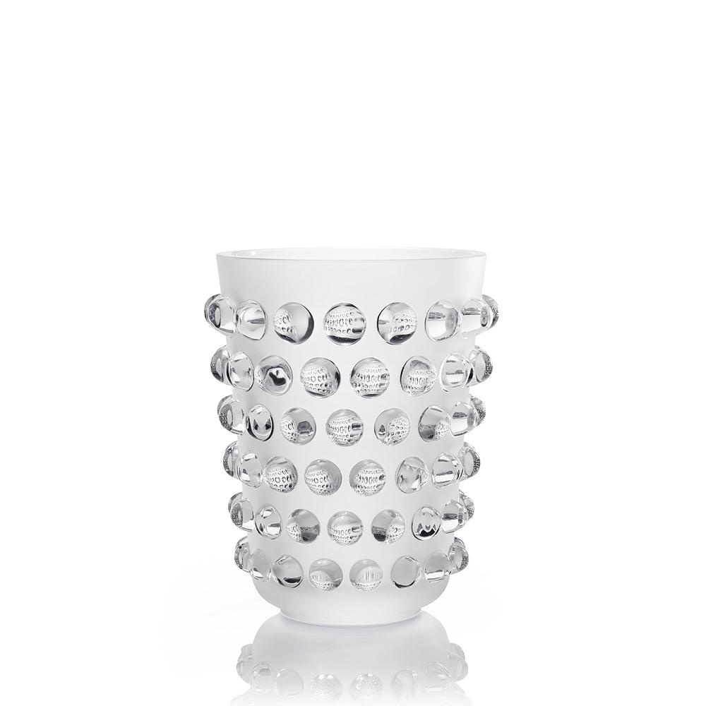 Mossi vase | Clear crystal | Vase Lalique