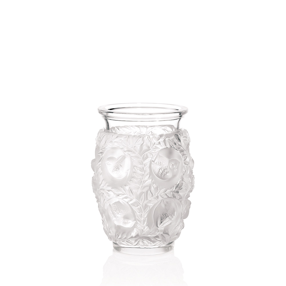 Bagatelle vase clear crystal vase lalique lalique for Lalique vase